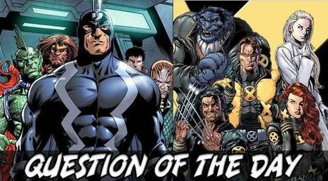 Major Spoilers Question Of The Day: Mutant Or Inhuman Edition | Comic Book Trends | Scoop.it