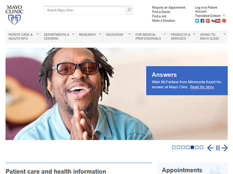 Why Top Hospitals Have Inadequate Websites: 10 Things to Know | Social Health on line | Scoop.it