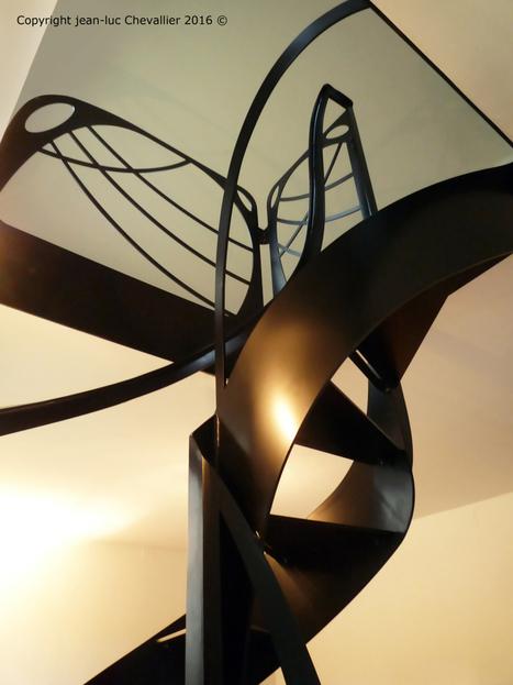 Escalier design hélicoïdal profil | Escalier Design Mobilier Contemporain de style Art Nouveau | Scoop.it
