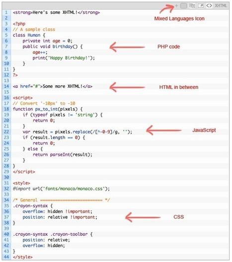 Crayon Syntax Highlighter | TECNOLOGÍA_aal66 | Scoop.it