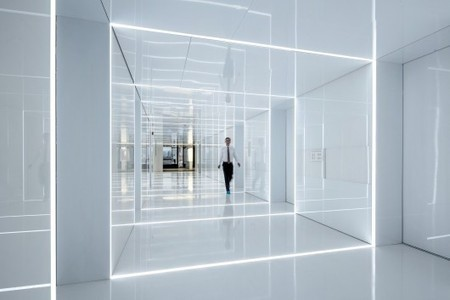 Glass office SOHO China / AIM Architecture | workplace creativity: innovation et travail | Scoop.it
