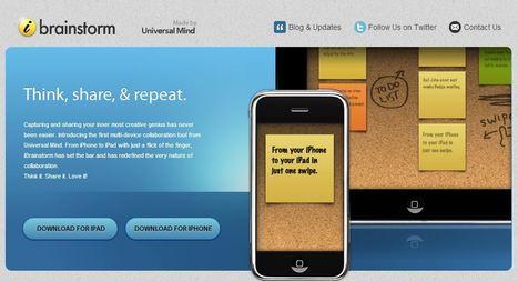 iBrainstorm | A Creative Collaboration Tool | Mediawijsheid in het HBO | Scoop.it
