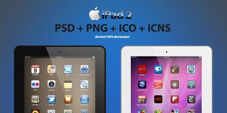 20 ressources tablettes, smartphones et écrans en PSD pour présenter vos projets web et mobile - ressource-webdesign | Techniques modernes de création web | Scoop.it