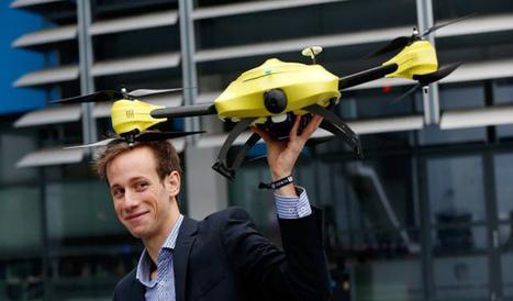 Un étudiant belge a mis au point un « drone ambulance » qui pourrait bien sauver des vies.   All Boats Avenue   Nautisme et Plaisance   Scoop.it