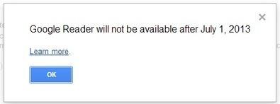 La fin de Google Reader ! Et après ? | ImNerdy | Scoop.it