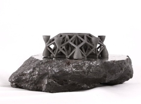 3-D printer makes hardware out of real asteroid metal | Space matters | Scoop.it