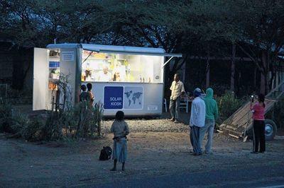 Un kiosque fonctionnant à l'énergie solaire | Comportement durable | Scoop.it