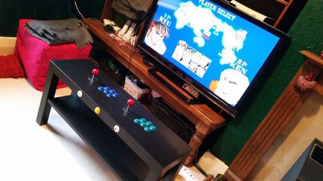 Build This Two-Player Arcade Table from a Raspberry Pi and IKEA Parts | Raspberry Pi | Scoop.it