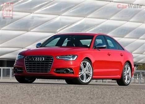 Audi S6 launched in India for Rs 85.99 lakh - CarWale News | cars | Scoop.it