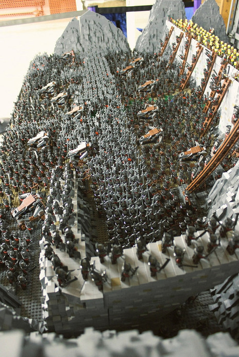 Epic LEGO Dioramas Than Lord Of The Rings Uses 1700 Mini | Just Tell Us about | Scoop.it
