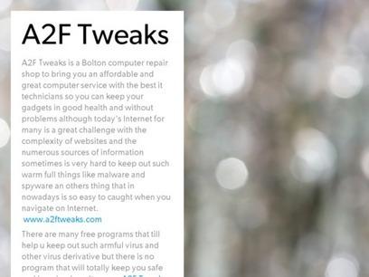 A2F Tweaks | Computer Tweaks | Scoop.it
