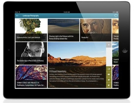 Web discovery engine Trapit launches iPad app -- but it's not another Flipboard | Reading and Writing Connection | Scoop.it