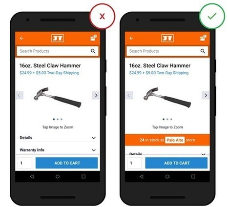 Mobile eCommerce: Product Details – UX Planet | User Experience, Usability and Web Optimization | Scoop.it