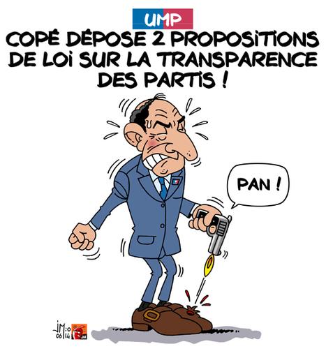 UMP : Copé et la transparence des partis | Baie d'humour | Scoop.it