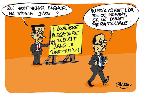 François Hollande et la règle d'Or de Sarkozy   Photos de LYonenFrance   LYFtv - Lyon   Scoop.it