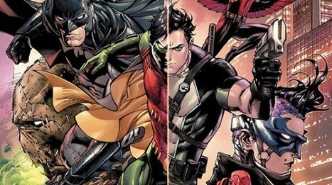 The future of Batman is Dick Grayson, Bruce Wayne is keeping the cowl off | Books Related | Scoop.it