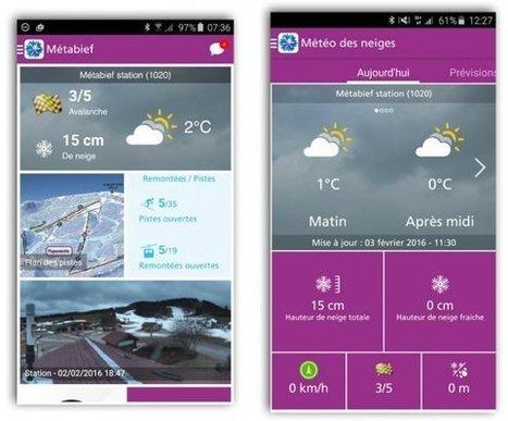 Quand les nouvelles technologies s'invitent au sports d'hiver - France 3 Franche-Comté | Montagne et Tourisme d'Aventure | Scoop.it