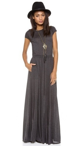 Heather Maxi Tee Dress | SHOPBOP | event dresses and jewelry | Scoop.it