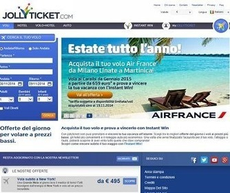 Jollyticket.com: portale di viaggi dove vinci quello che acquisti   www.vacanzaidea.eu   Scoop.it