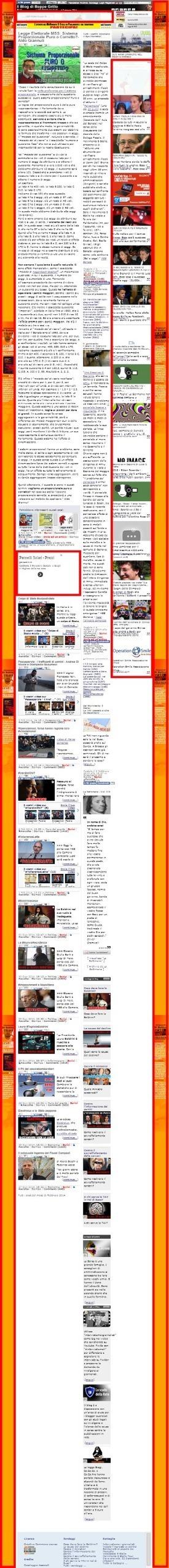 Beppe Grillo non ti voto perchè... | The Matteo Rossini Post | Scoop.it
