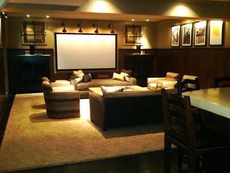 Small Home Theater Design | Home Design | Scoop.it