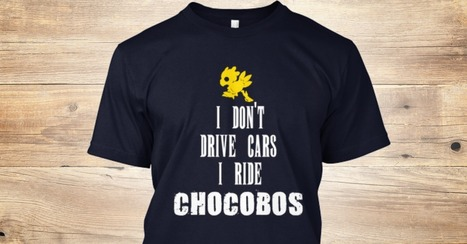 Limited Edition Chocobos Shirt | Final fantasy | Scoop.it