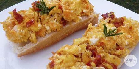 Oeufs brouillés au chorizo | student-food | Recipes | Scoop.it