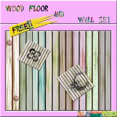 Wood Floor Seamless Textures Pack by Bad Inspired   Teleport Hub   Second Life Freebies   Scoop.it