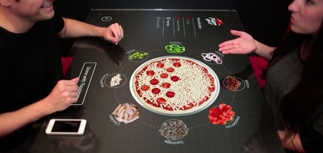 Pizza Hut développe une table connectée et interactive pour préparer sa pizza | L'agroalimentaire, le marketing et moi | Scoop.it
