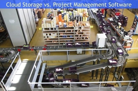 Project Management Software vs. Cloud File Storage: What's the Difference? - Wrike Blog | Social Project Management | Scoop.it