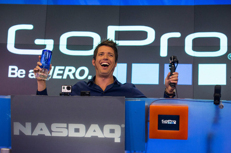 GoPro's share price drops after charity breaks IPO lockup | e-biz | Scoop.it