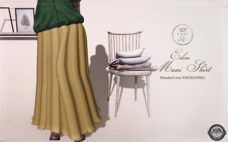::C'est la vie !:: Eden Maxi skirt for Shiny Shabby   Style of LIFE   Scoop.it