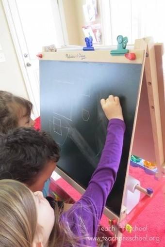 Making squares | Teach Preschool | Teach Preschool | Scoop.it