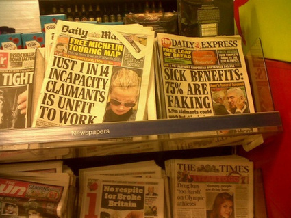 Media Must Be Held To Account For Their Portrayal Of Sick And Disabled Benefit Claimants   Welfare, Disability, Politics and People's Right's   Scoop.it