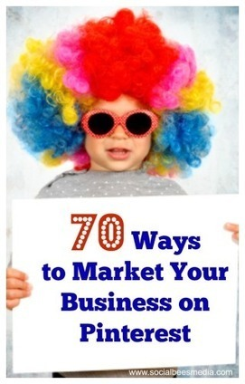 70 Ways To Market Your Business On Pinterest | Social Media Effectiveness | Scoop.it