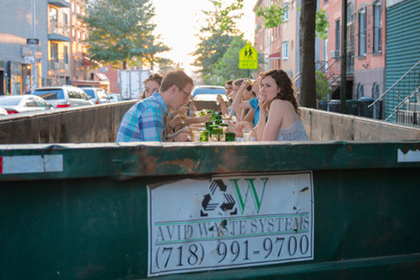 Garbage gourmet! Do-gooder foodies dine in W'burg dumpster - Brooklyn Paper | Brooklyn Buzz | Scoop.it