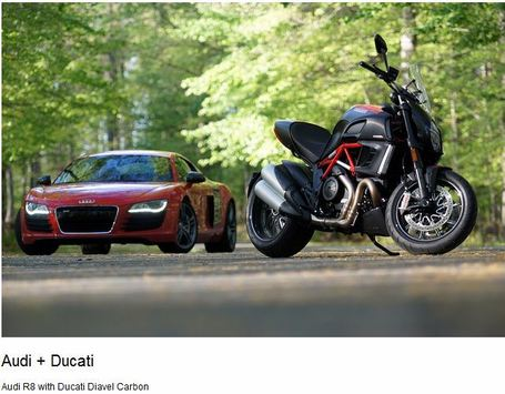 Audi + Ducati | Flickr Photostream | Audi USA | Ductalk | Scoop.it