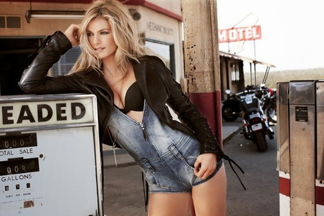 MARISA MILLER FOR HARLEY DAVIDSON | Vintage Motorbikes | Scoop.it
