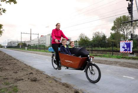 À Amsterdam, on roule sur des panneaux solaires | Communiqu'Ethique sur les sciences et techniques disponibles pour un monde 2.0,  plus sain, plus juste, plus soutenable | Scoop.it