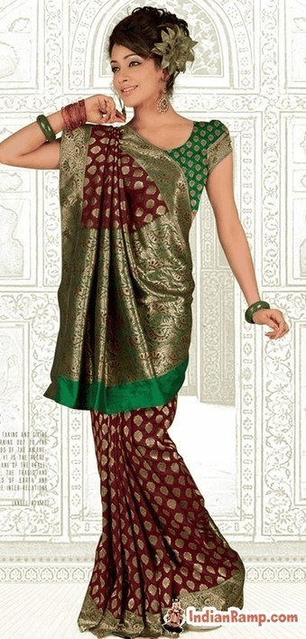 Banarasi Silk Saree Online, Pure Silk Sarees for Indian Women(Banaras) | Indian Ramp | Indian Fashion Updates | Scoop.it