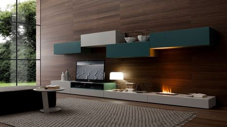 Electric Fireplace with a Simple Style for Modern Living Room - Home Decorating Designs | Home Interior Design | Scoop.it