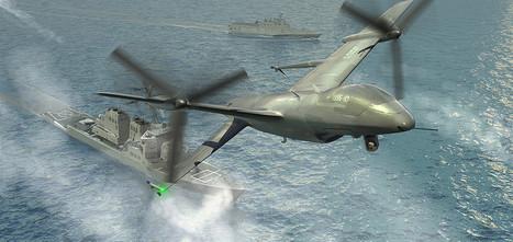 Les américains Northrop Grumman et Aerovironment sont dans la phase 2 du programme TERN de drone naval tactique | Newsletter navale | Scoop.it