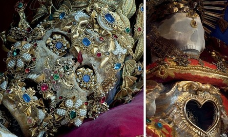Incredible skeletal remains of 'Catholic saints' that are still dripping in gems and jewellery and have now been dug up by 'Indiana Bones' explorer | British Genealogy | Scoop.it