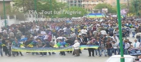 Marche des autonomistes à Tizi Ouzou : « La Kabylie ne sera pas le terrain des règlements de compte au sommet du pouvoir » (Actualisé) | TSA-Algérie | Morocco | Scoop.it