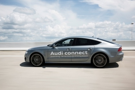 Audi teste la voiture autonome en Floride | CARFUTUR.COM | Actu automobile | Scoop.it