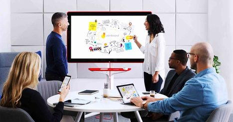 Google Jamboard Is a Huge 4K Screen You Can Scribble On | Real Estate Plus+ Daily News | Scoop.it
