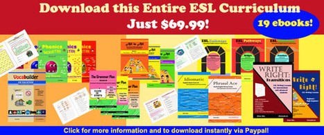 ESL Resources for Teachers: Printable Worksheets, Games, Lesson Plans, and More! | English Language Learning Resources | Scoop.it