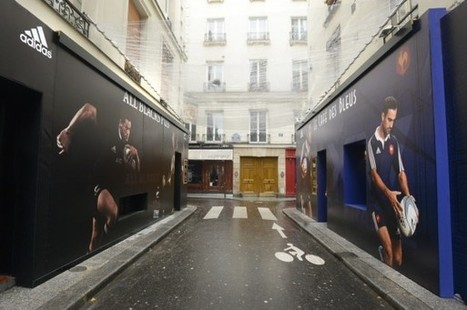 Adidas lance les nouveaux maillots du XV de France et des All Blacks avec une battle de bars | streetmarketing | Scoop.it