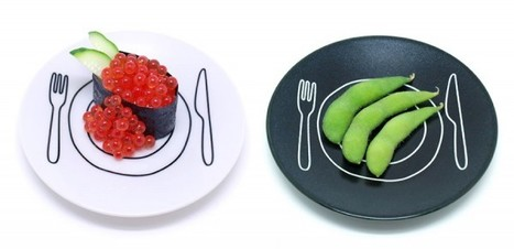 Inspirational Plate-Plate Project by Duncan Shotton | The Wondrous Design Magazine | @FoodMeditations Time | Scoop.it