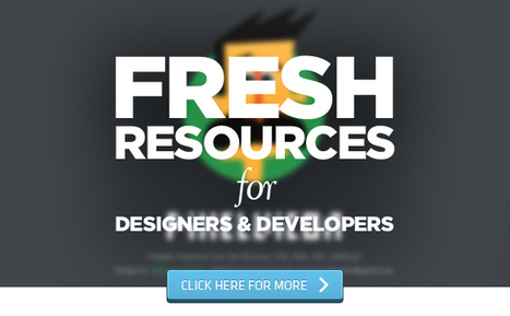 Fresh Resources for Designers and Developers – August 2014 | Programming | Scoop.it